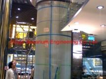 澳門葡京娛樂場內餐廳13700升圓柱缸