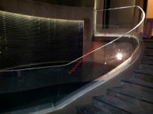 澳門亞加力鱼池+發光扶手