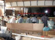 銅鑼灣餐廳20米鱼缸玻運輸