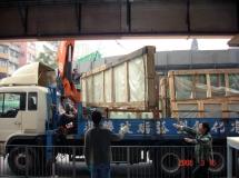 銅鑼灣餐廳20米鱼缸玻運輸3