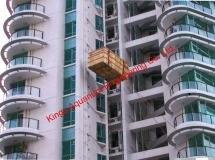 深圳住宅37樓吊運