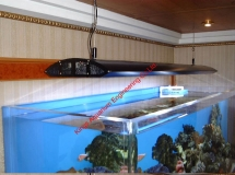 廣州住宅1800L珊瑚缸1